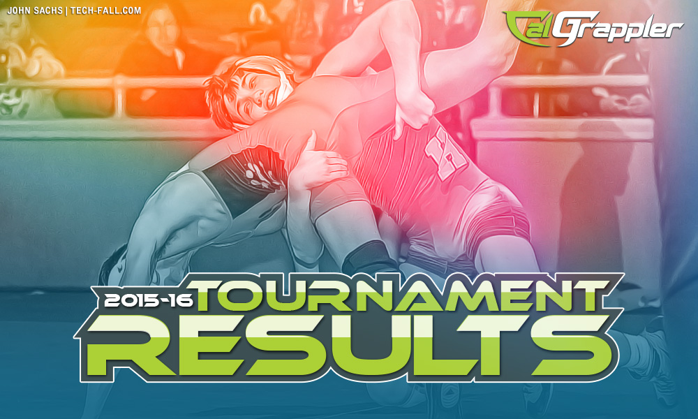 California Wrestling Tournament Results 2016