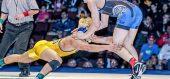 120 lbs. Final: Justin Mejia (Clovis) vs Jaden Abas (Frontier)