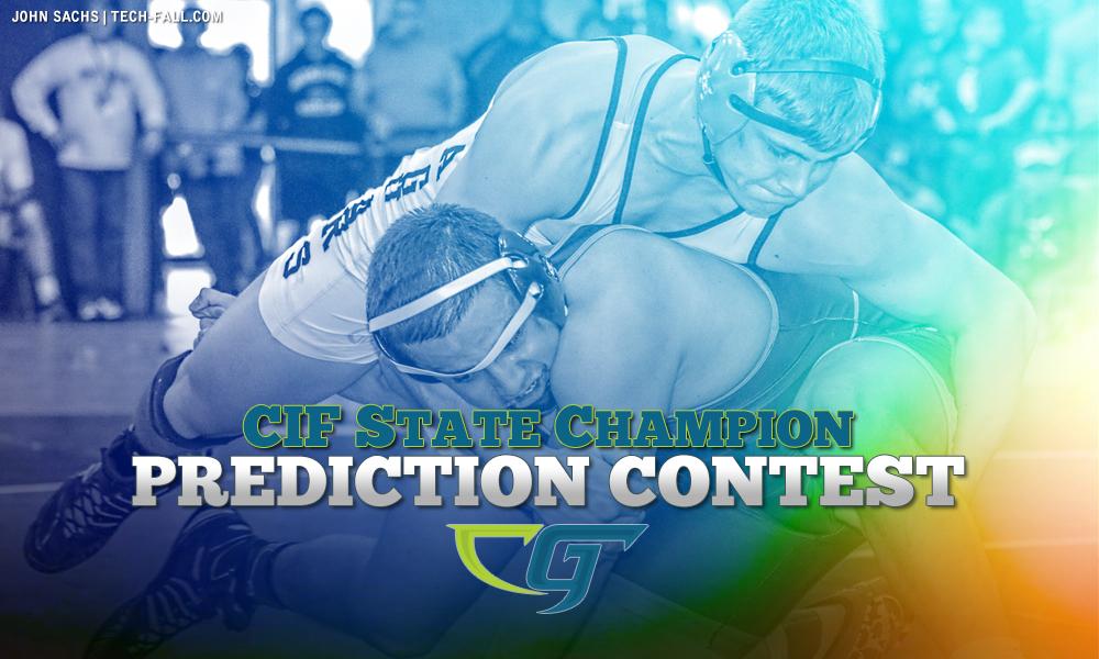 CIF State Championship Wrestling Prediction Contest