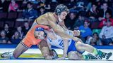 145 lbs. Final: Zander Wick (San Marino) vs Ruben Garcia (Selma)