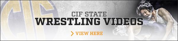 CIF State - California State Wrestling Video