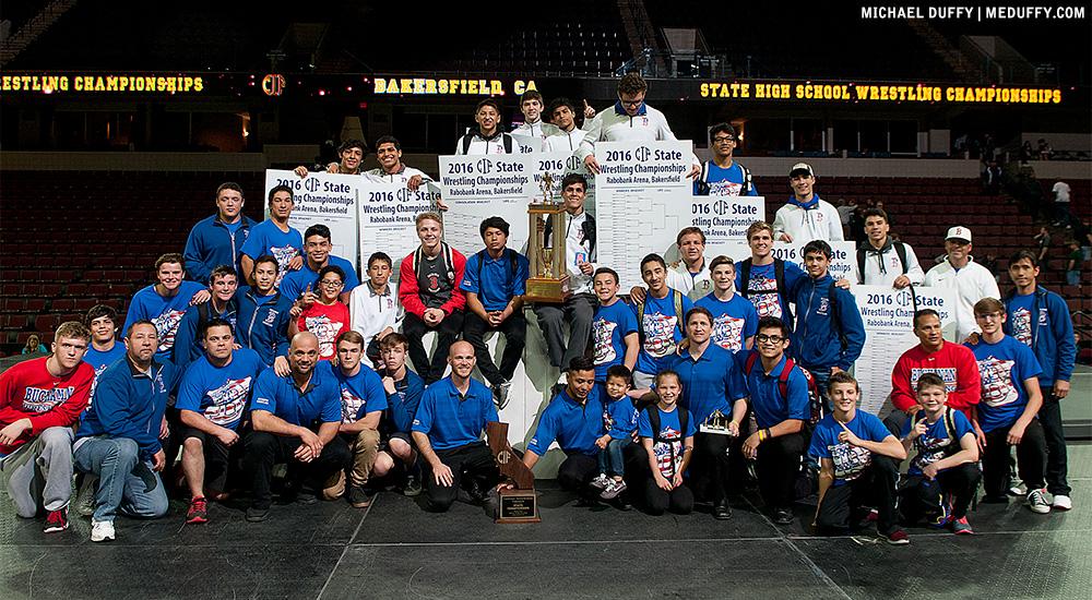Buchanan Wrestling Champions 2016