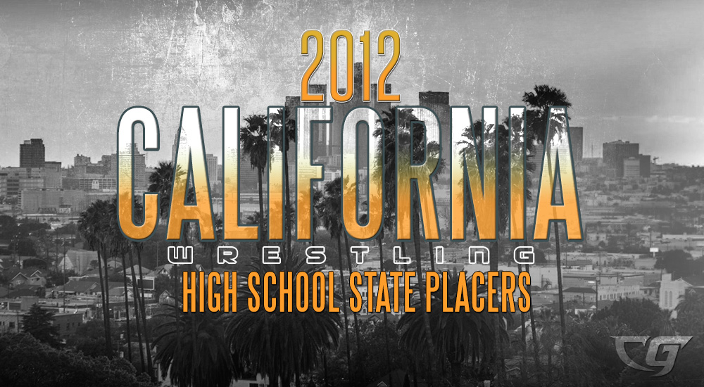 2012 California State High School Wrestling Results