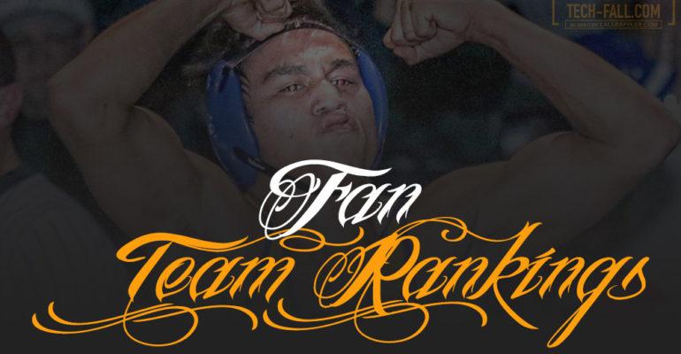 Fan Team Rankings – Rank Your Top Teams