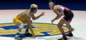 126 lbs. Justin Mejia (Clovis) vs Robert Garcia (Selma)