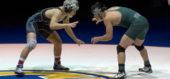 152 lbs. Quentin Hovis (Poway) vs Joshua Kim (Santiago)