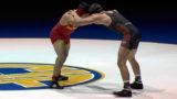 170 lbs. Anthony Mantanona (Palm Desert) vs Abel Garcia (Oakdale)