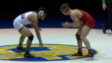 182 lbs. Anthony Montalvo (Buchanan) vs Colbey Harlan (Oakdale)