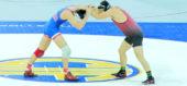 220 lbs. Cade Belshay (Buchanan) vs Dominik Urena (Elsinore)