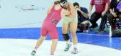 285 lbs. Jesus Flores (Delhi) vs Noah Wright (Lemoore)