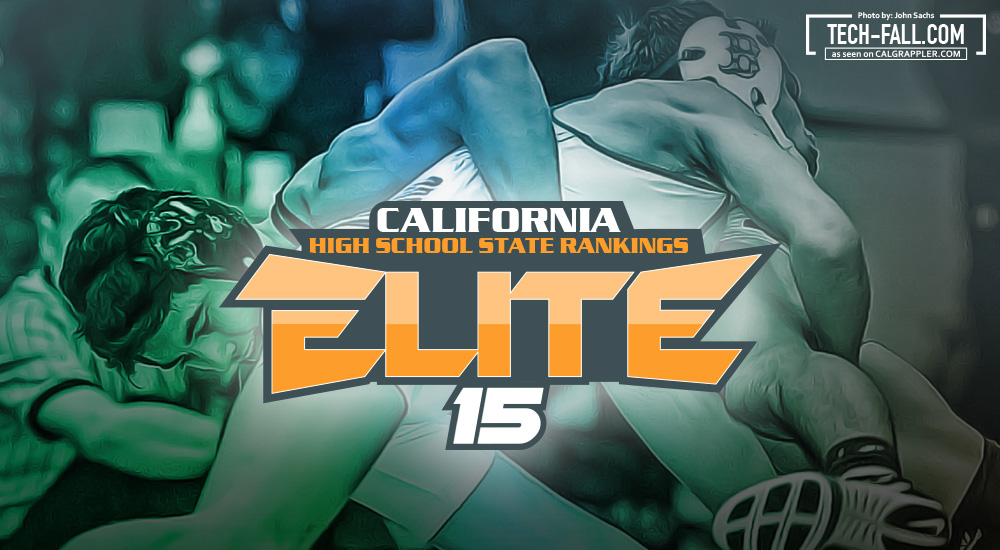 California High School Wrestling Rankings - Elite 15