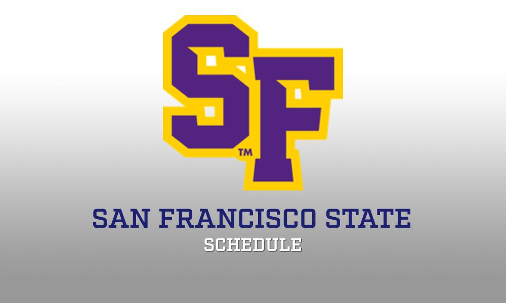 San Francisco State Wrestling Schedule 2017-18